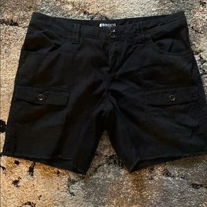 Black Roxy Shorts
